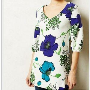 Deletta floral tunic